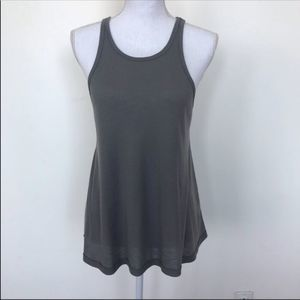 Free People gray muscle tank top